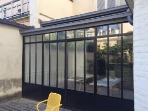 Alkéos Rénovation Verrière Atelier extérieure 01