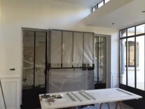 Alkéos Rénovation Verrière Atelier intérieure 01